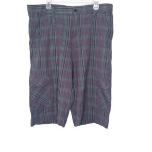 Mecca gray and green shorts men's size 38